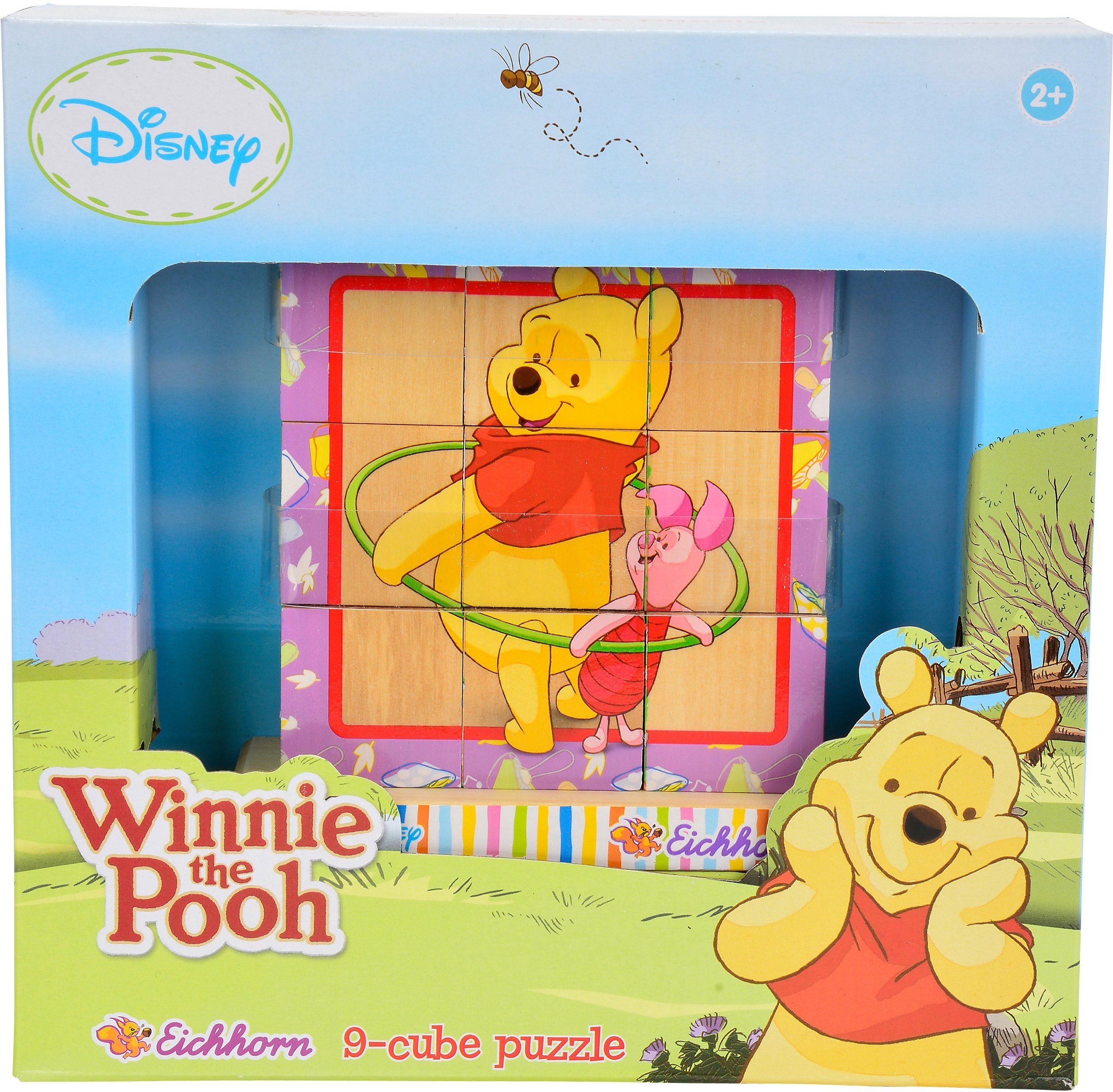 Eichhorn 3D Steckpuzzle, »Disney Winnie the Pooh Bilderwürfel«
