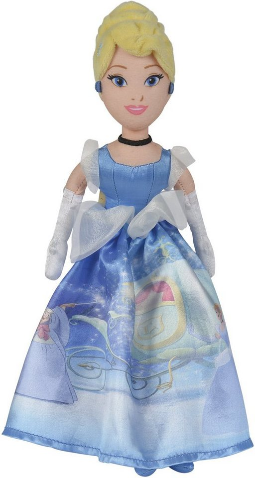 Simba Stoffpuppe, »Disney, Prinzessin Cinderella 25 cm«