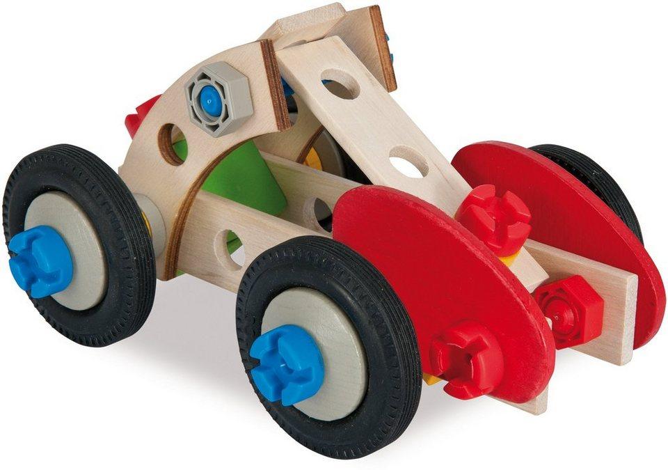 Heros Multifunktionsbausatz aus Holz, »Constructor Rennauto, 50tlg.«