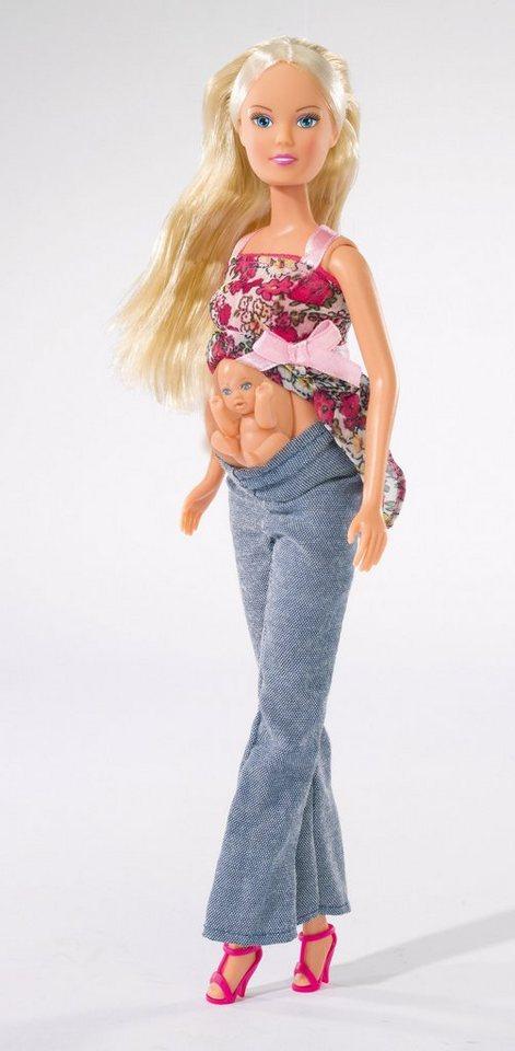 Simba Puppe mit Baby und Zubehör, »Steffi Love, Welcome Baby«