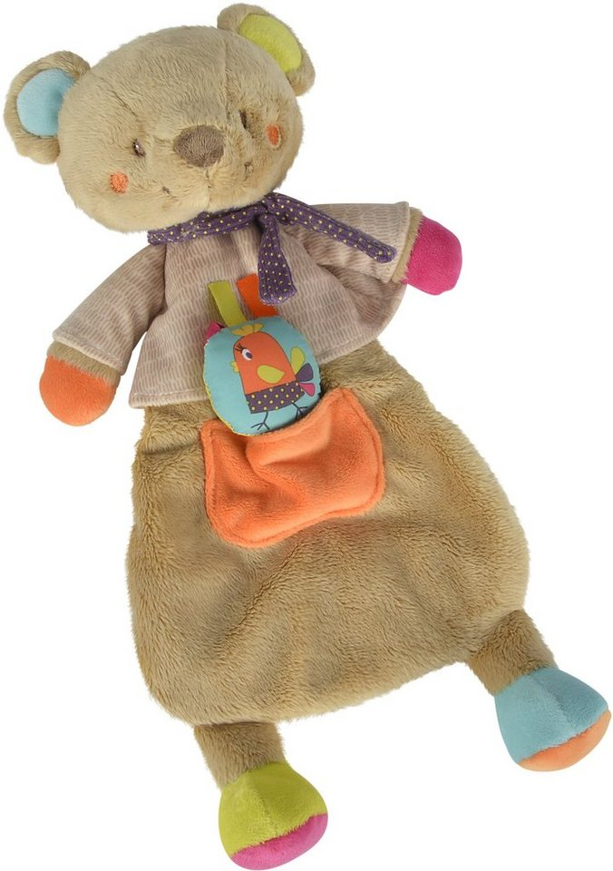 Nicotoy Baby Kuscheltier ca. 37 cm, »Schmusetuch Bär Gary lang«