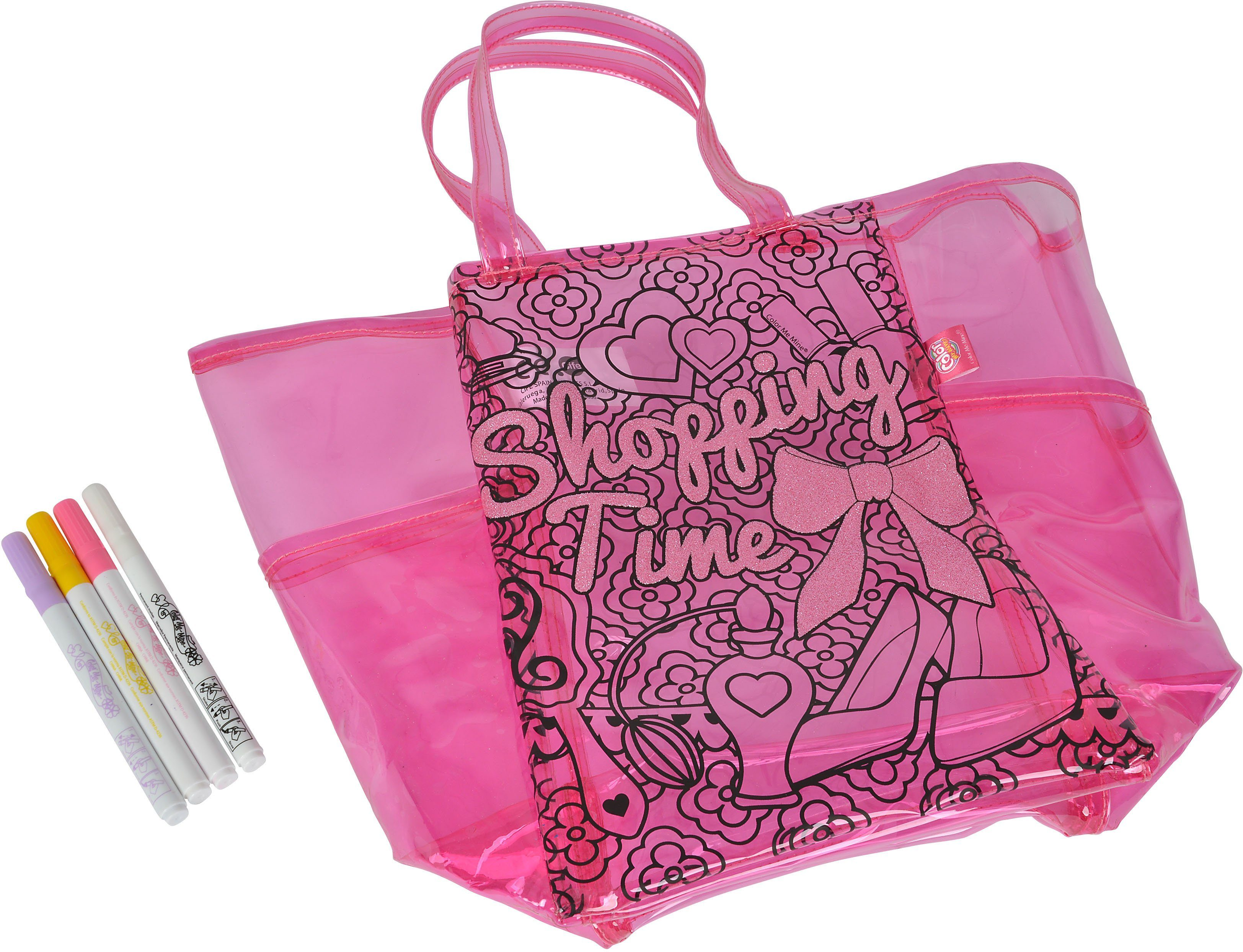 Simba Tasche zum Bemalen, »Color me mine, Diamond Sunshine Fashionbag«