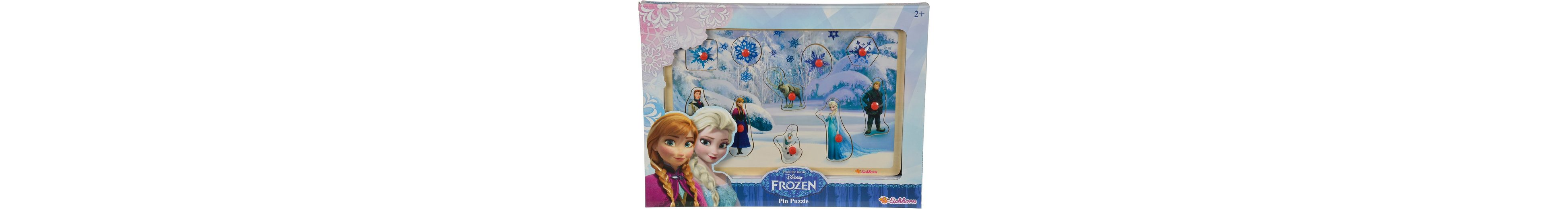 Eichhorn Holzpuzzle, »Disney Frozen Steckpuzzle«