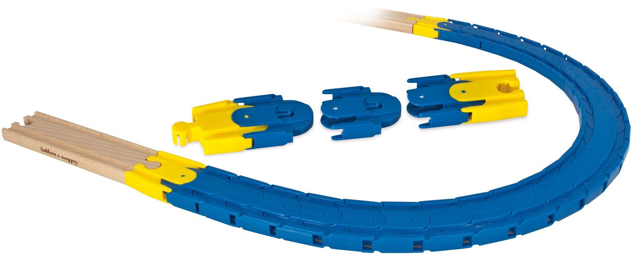 Eichhorn Flexibles Schienensystem, »Bahn Flex Trax Kurve 28 tlg.«