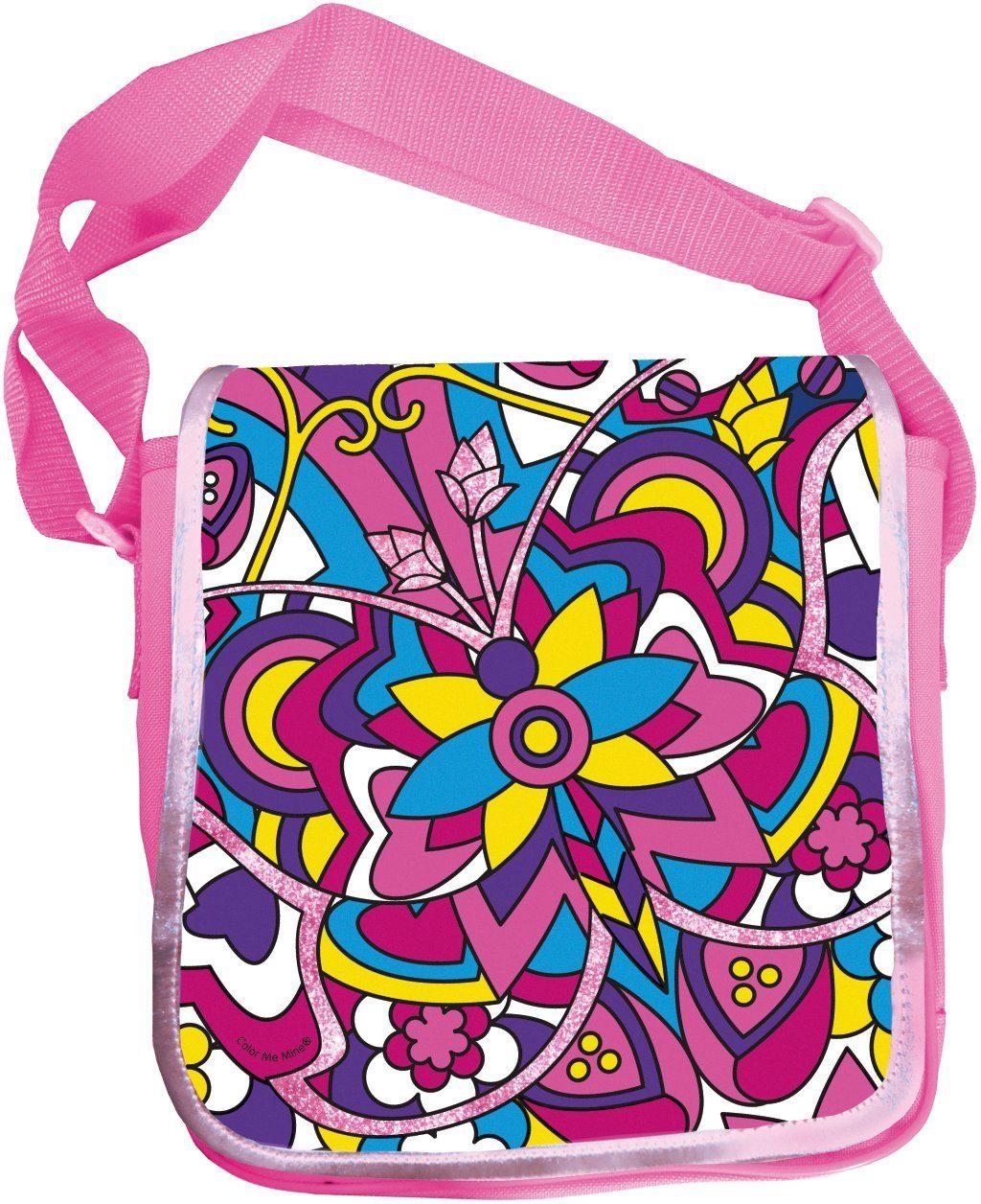 Simba Tasche zum Bemalen, »Color me mine, Diamond Party Messenger Bag«