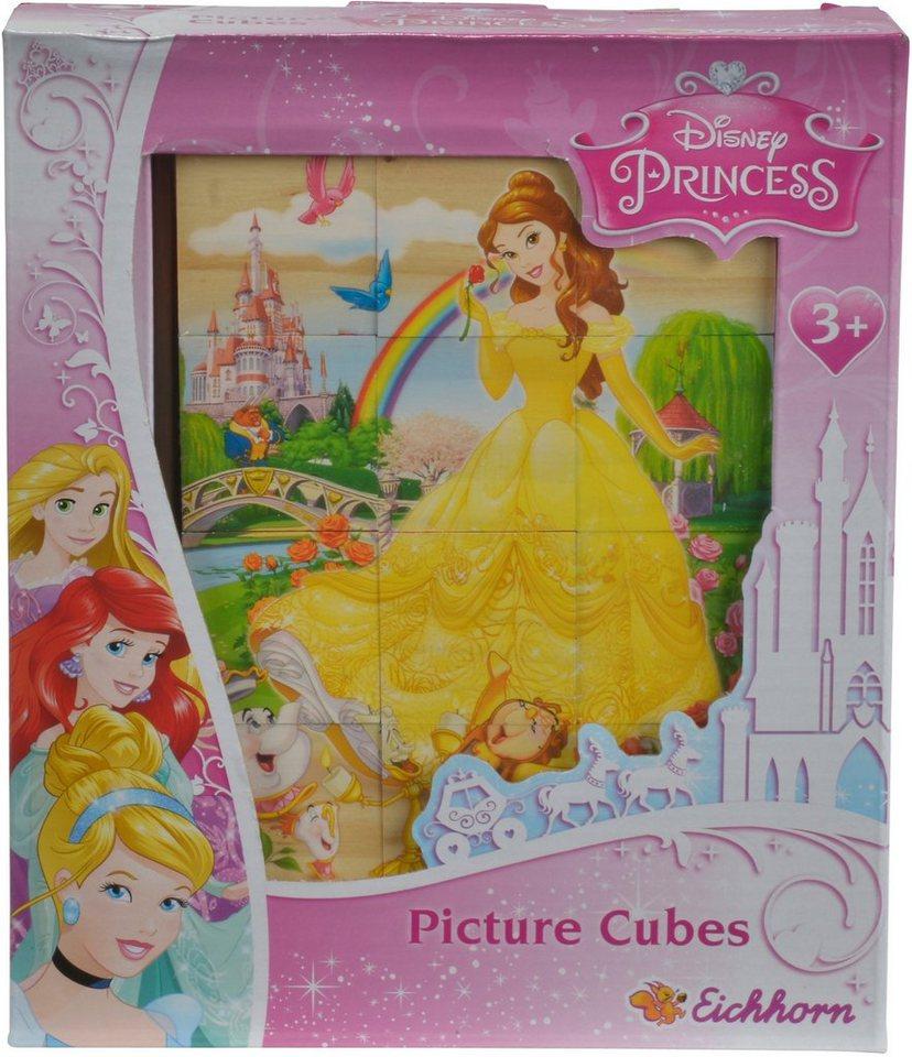 Eichhorn 3D Puzzle aus Holz, »Disney Princess, Bilderwürfel«