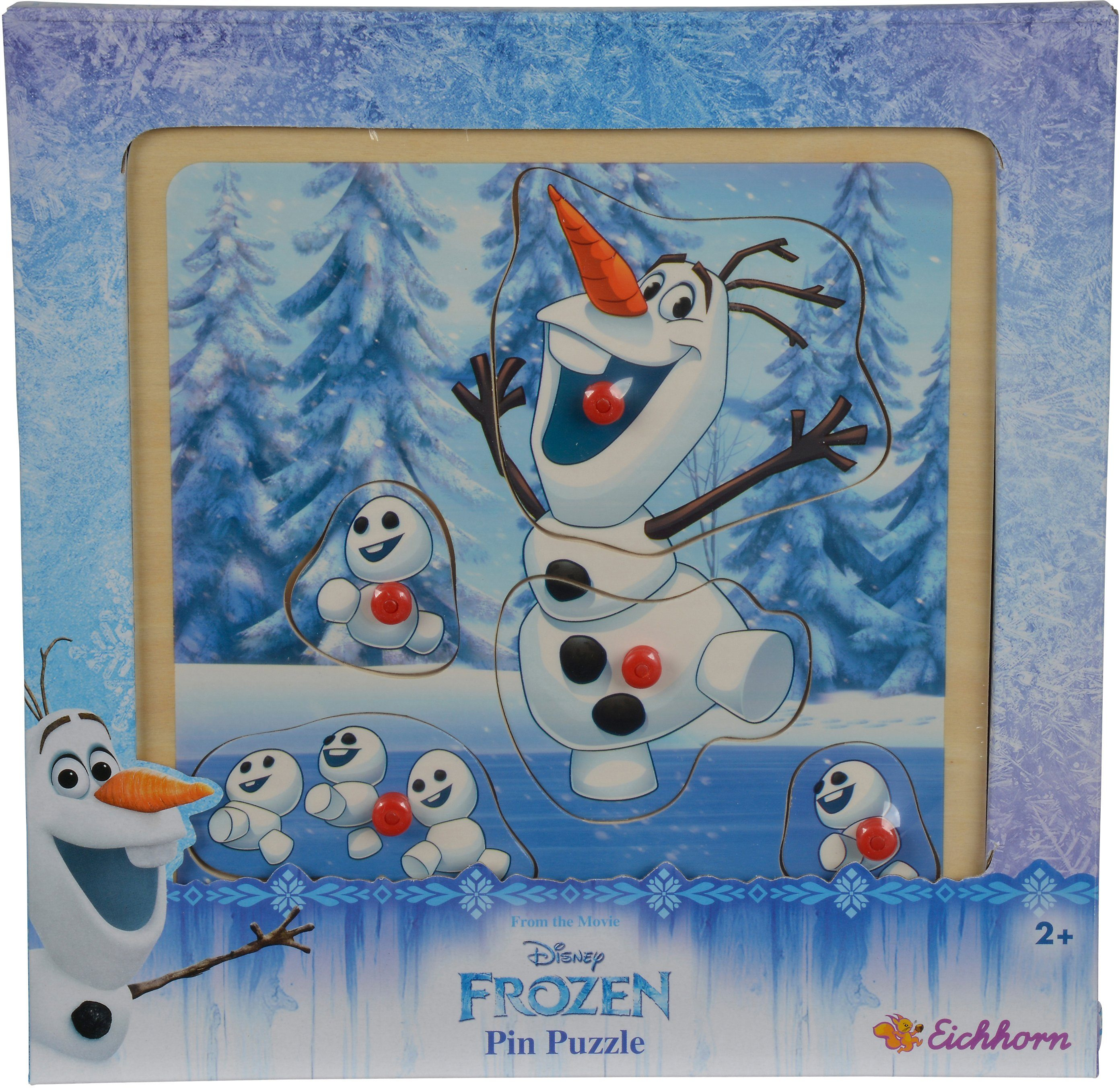 Eichhorn Holzpuzzle, »Disney Frozen Olaf Steckpuzzle«