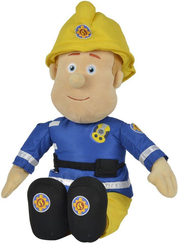 Simba Stoffpuppe Feuerwehrmann ca. 45 cm, »Feuerwehrmann Sam, Plüschfigur 45 cm«