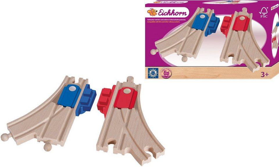 Eichhorn Zubehör für Holzlokomotive, »Mechanische Weichen«