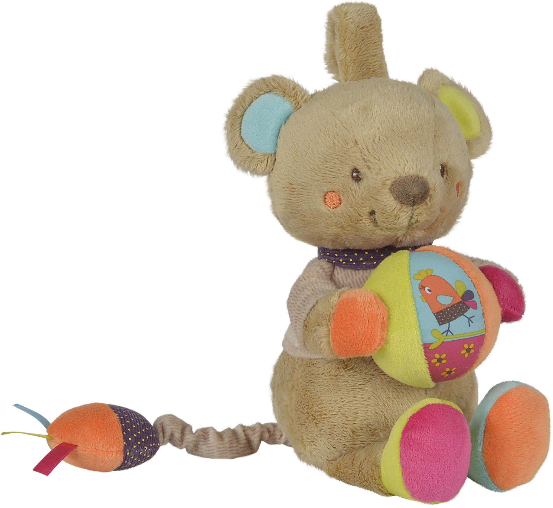 Nicotoy Kuscheltier mit Sound ca. 30 cm, »Baby Spieluhr Bär Gary«