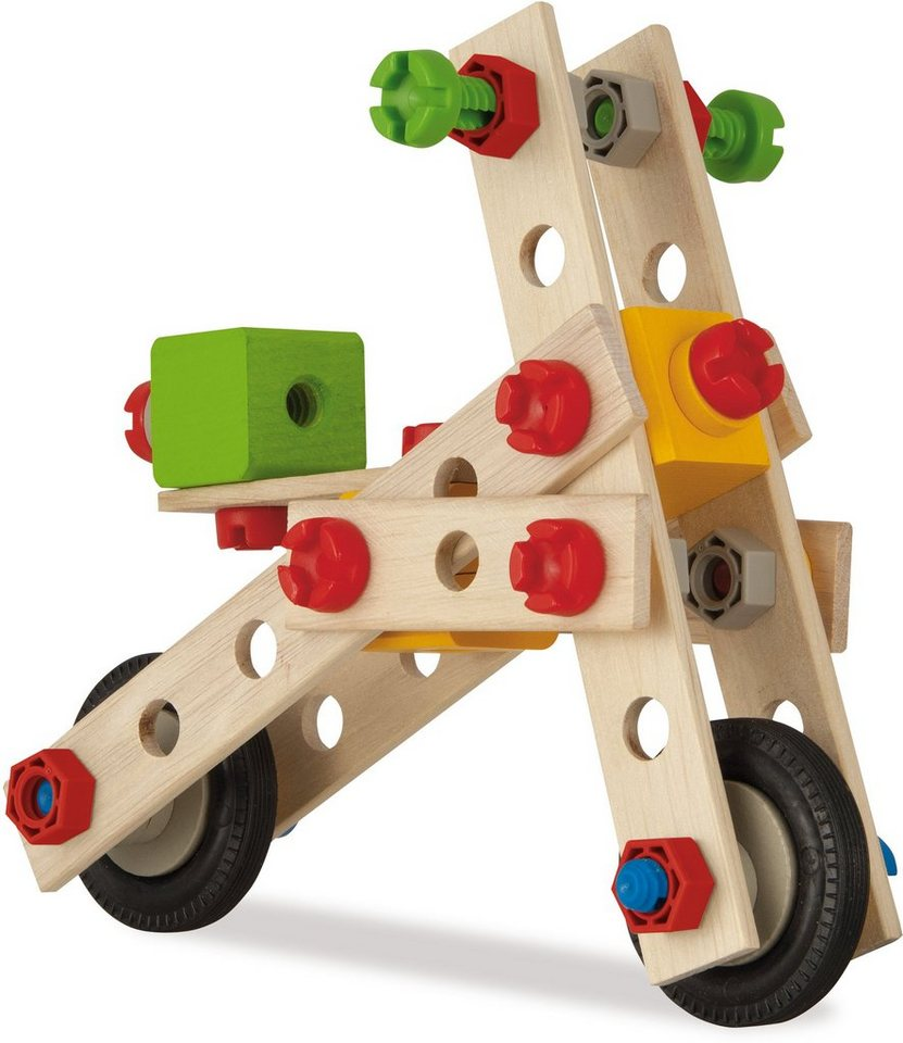 Heros Multifunktionsbausatz für Fortgeschrittene aus Holz, »Constructor Hubschrauber, 120 tlg.«