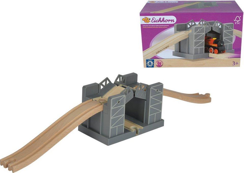 Eichhorn Holzbrücke mit Schließmechanismus, »Funktionsbrücke«