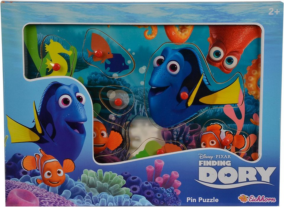 Eichhorn Holzpuzzle, »Disney Pixar Finding Dory, Steckpuzzle«