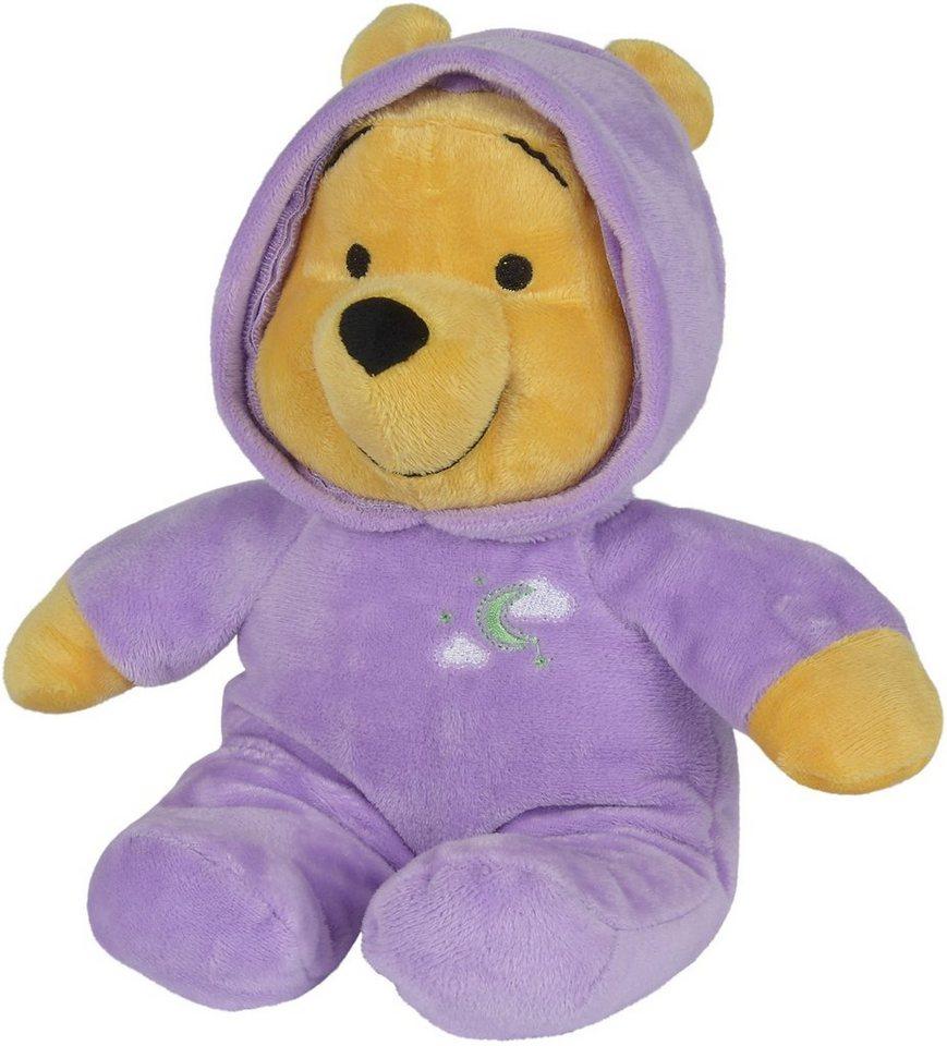 Simba Kuscheltier Bär mit Leuchtfunktion ca. 28 cm, »Disney Winnie The Pooh, Schlummerlicht«