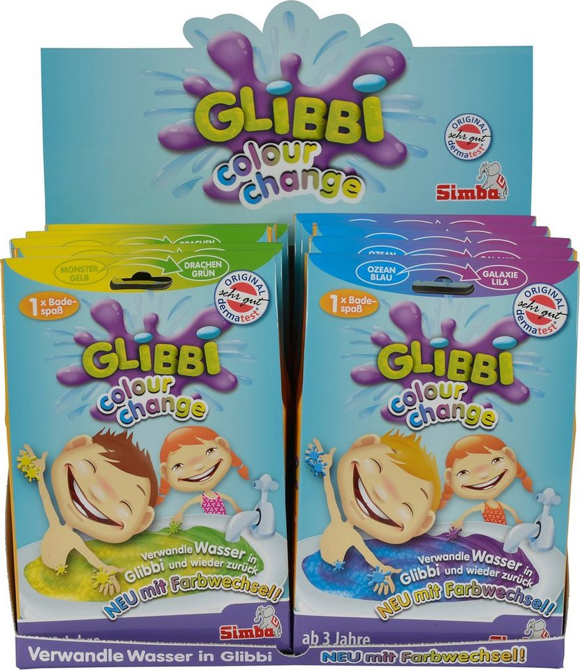 Simba Kinder Badezusatz, »Badespaß Glibbi Colour Change«