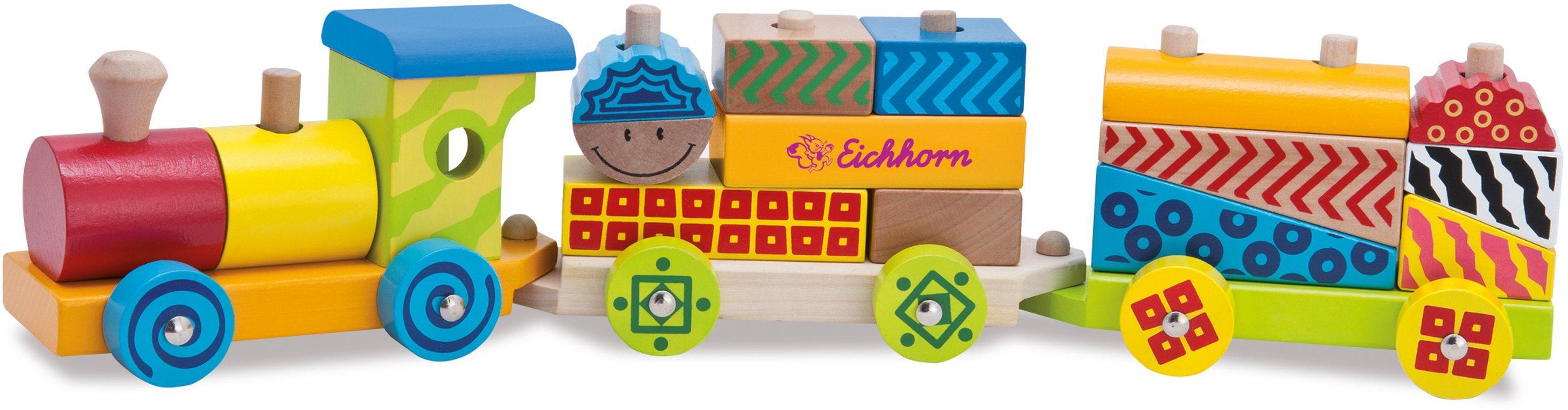 Eichhorn Holzbahn, »Color kleiner Zug, 18tlg.«