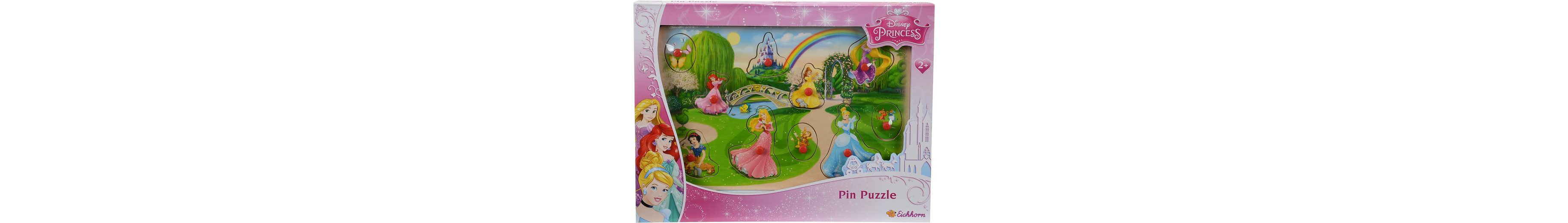 Eichhorn Holzpuzzle, »Disney Princess Steckpuzzle«
