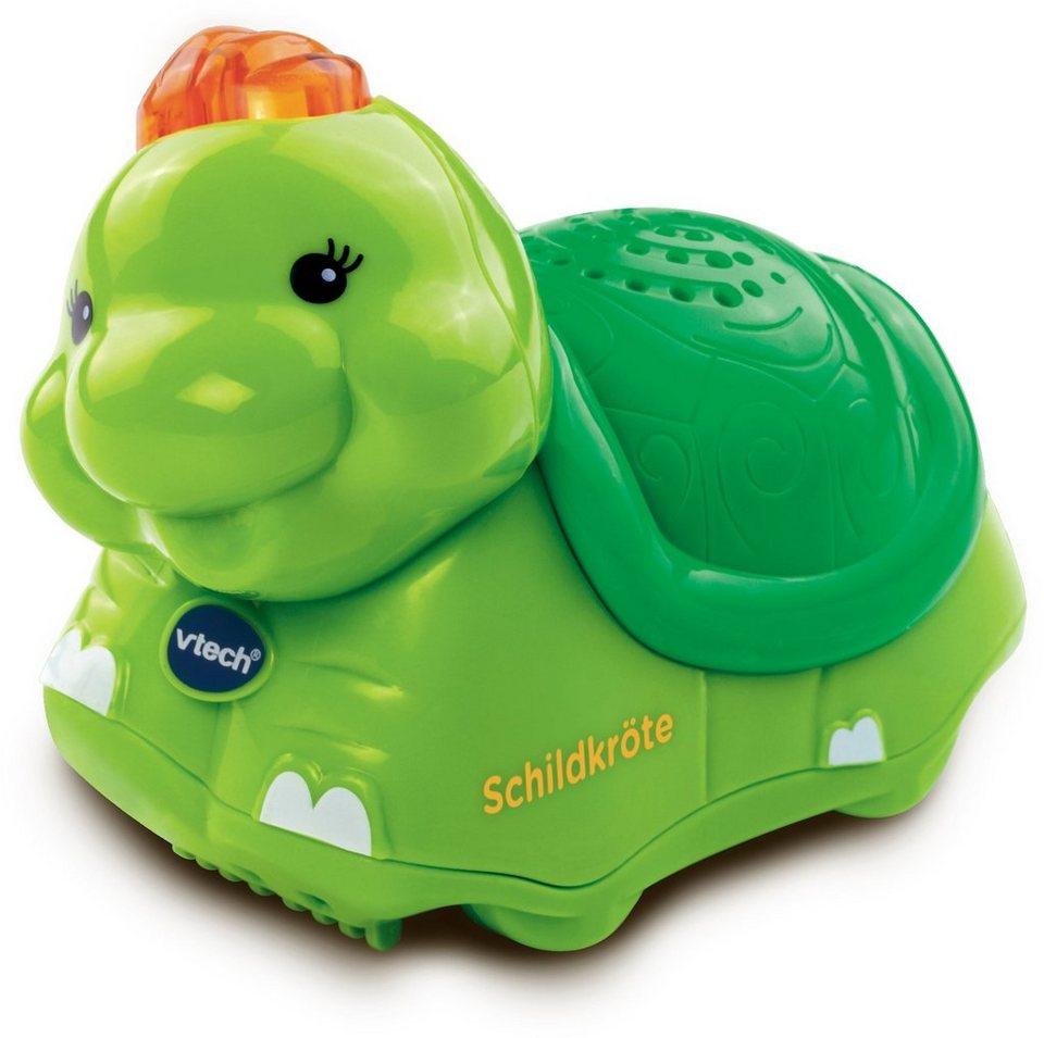 VTech Spielfigur mit Licht und Sound, »Tip Tap Baby Tiere Schildkröte« in Grün