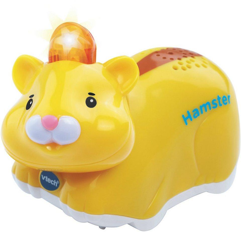 VTech Spielfigur mit Licht und Sound, »Tip Tap Baby Tiere Hamster« in Gelb