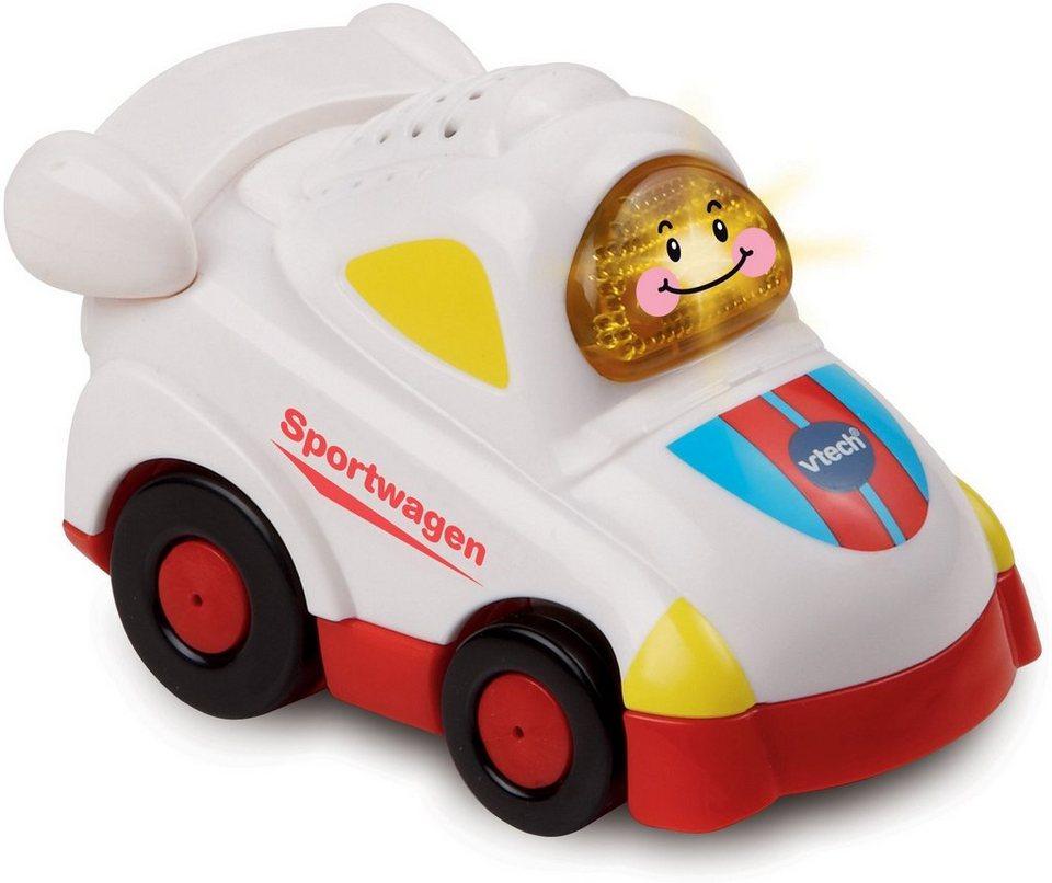 VTech Spielfahrzeug mit Licht und Sound, »Tut Tut Baby Flitzer Sportwagen« in Weiß