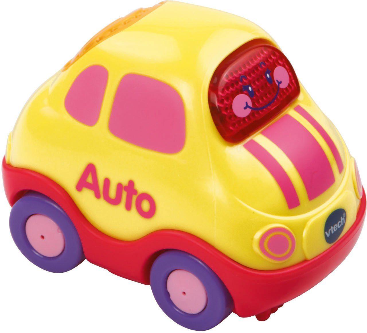VTech Spielfahrzeug mit Licht und Sound, »Tut Tut Baby Flitzer Auto pink«