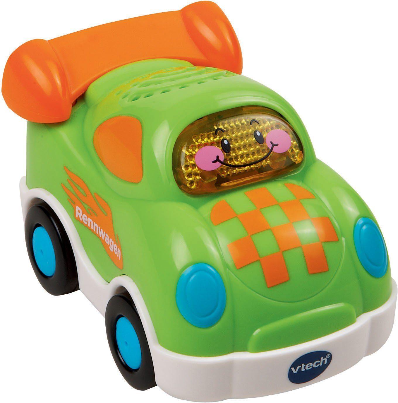 VTech Spielfahrzeug mit Licht und Sound, »Tut Tut Baby Flitzer Rennwagen«