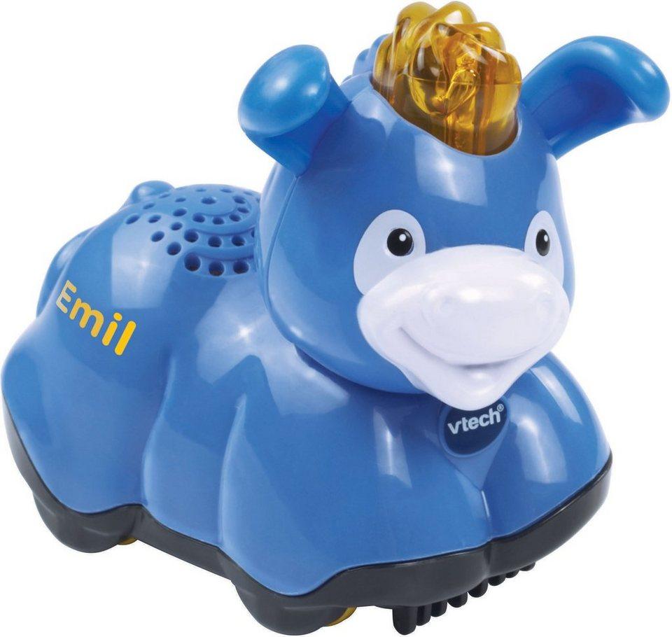 VTech Spielfigur mit Licht und Sound, »Tip Tap Baby Tiere Esel« in Blau