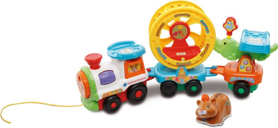 VTech Spielset, »Tip Tap Baby Tiere Kunterbunte Eisenbahn«