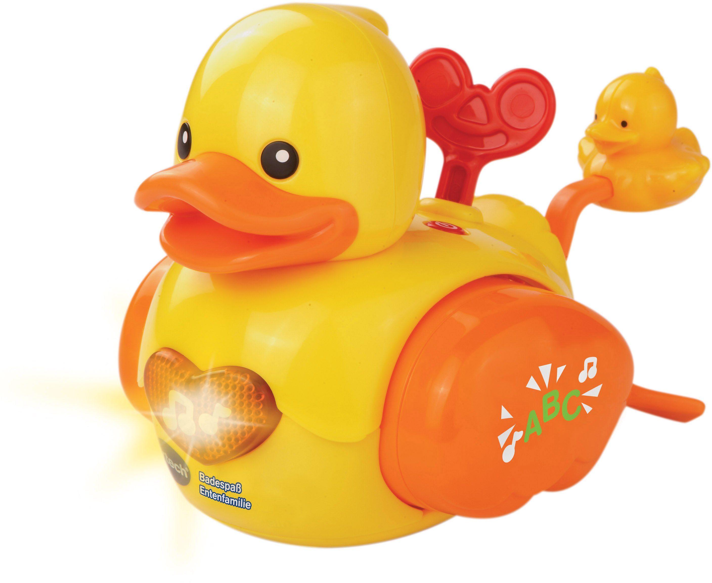 VTech Badespielzeug mit Licht und Sound, »VTech Baby Badespaß Entenfamilie«