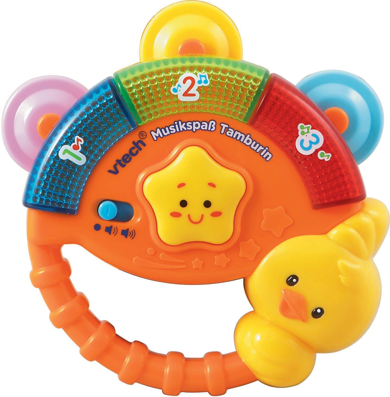 VTech Elektronisches Spielzeug mit Licht und Sound, »VTech Baby Musikspaß Tamburin«