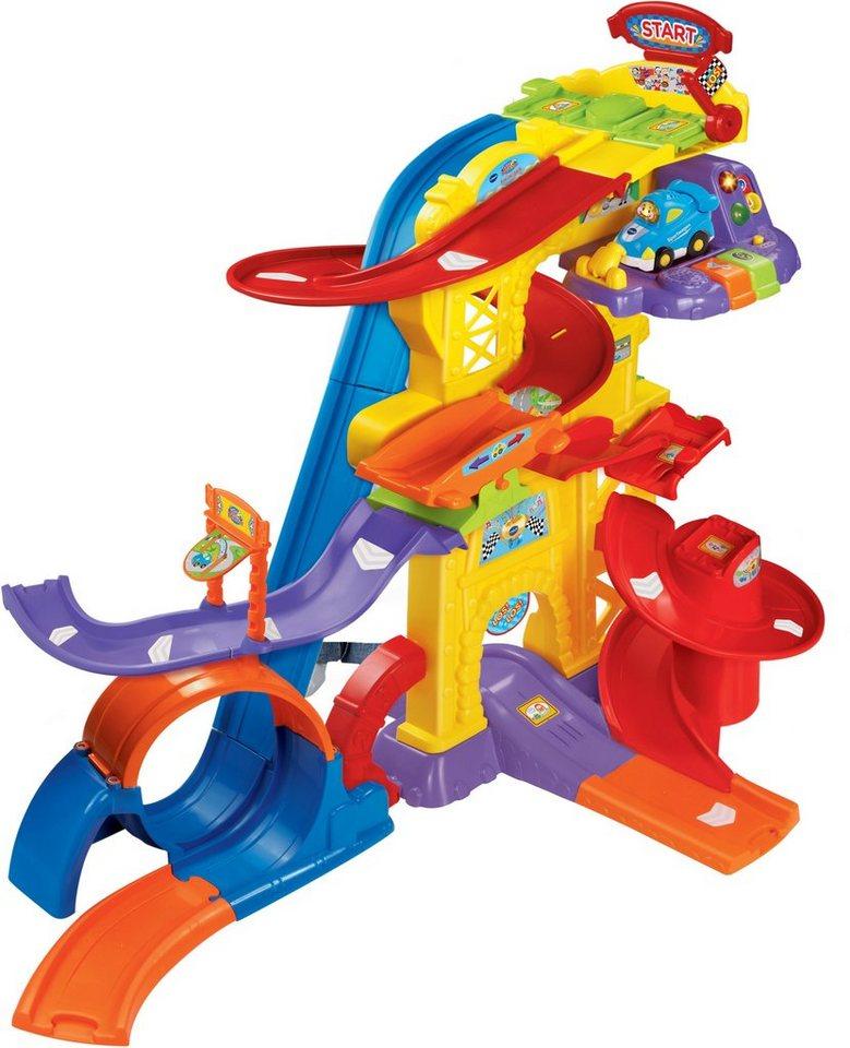 VTech Spielset für Spielfahrzeuge, »Tut Tut Baby Flitzer Freizeitpark« in Bunt