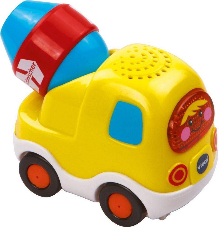 VTech Spielfahrzeug mit Licht und Sound, »Tut Tut Baby Flitzer Zementmischer« in Gelb
