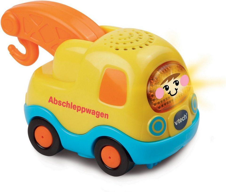VTech Spielfahrzeug mit Licht und Sound, »Tut Tut Baby Flitzer Abschleppwagen« in Gelb