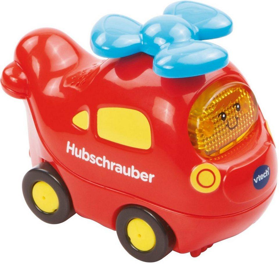 VTech Spielfahrzeug mit Licht und Sound, »Tut Tut Baby Flitzer Hubschrauber« in Rot