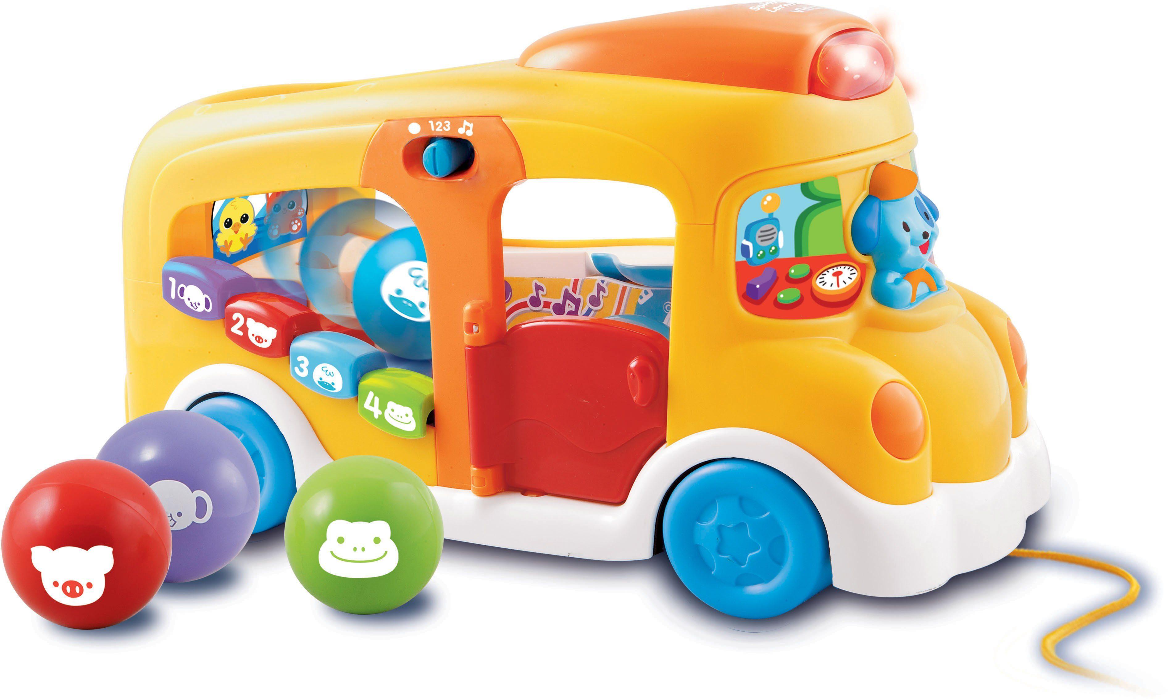 VTech Lernfahrzeug mit Musik und Licht, »Baby Spiel und Lernbus«
