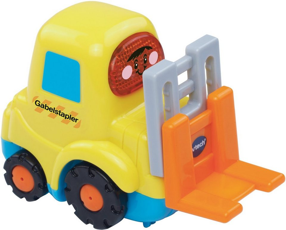VTech Spielfahrzeug mit Licht und Sound, »Tut Tut Baby Flitzer Gabelstapler« in Gelb