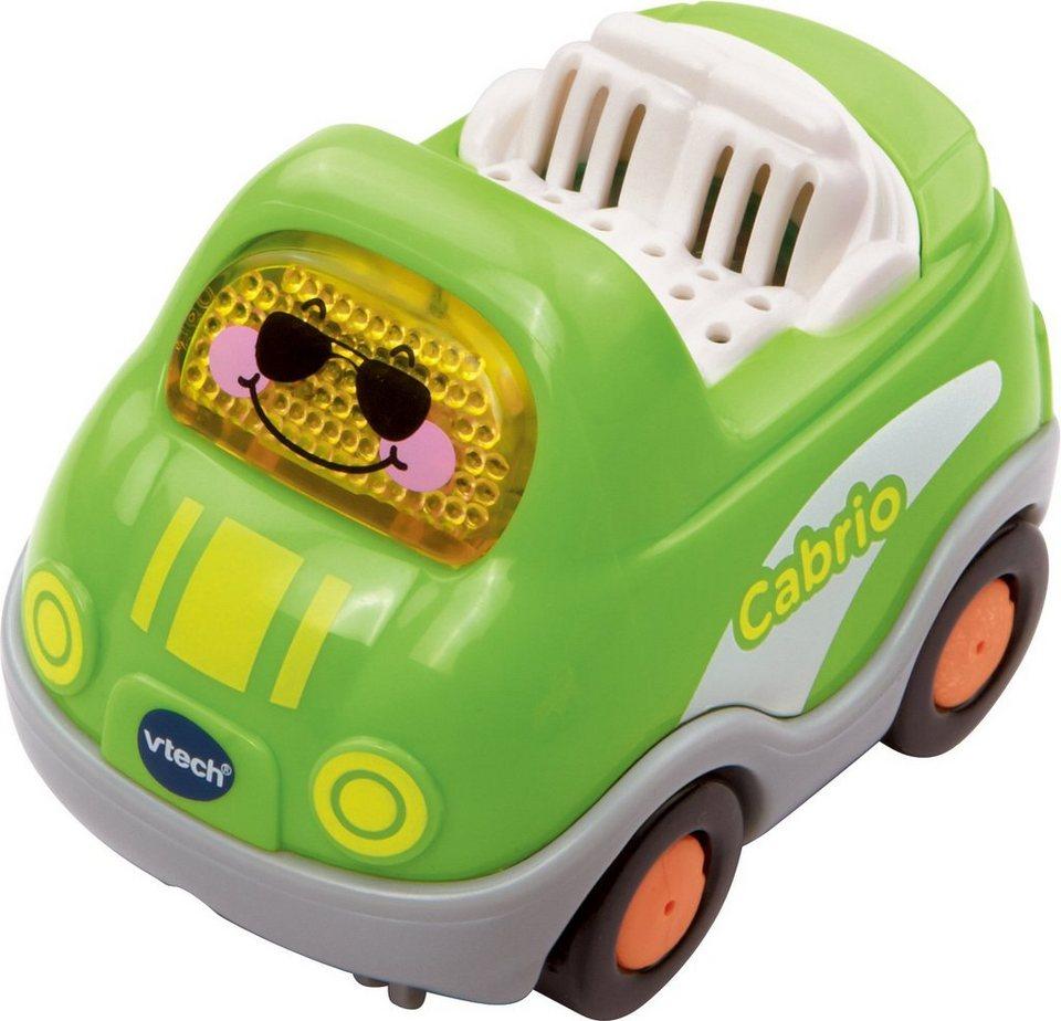 VTech Spielfahrzeug mit Licht und Sound, »Tut Tut Baby Flitzer Cabrio« in Grün
