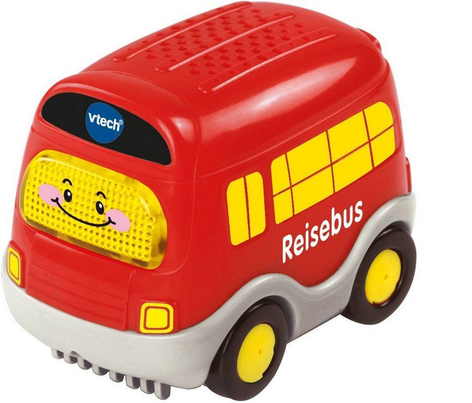 VTech Spielfahrzeug mit Licht und Sound, »Tut Tut Baby Flitzer Reisebus« in Rot
