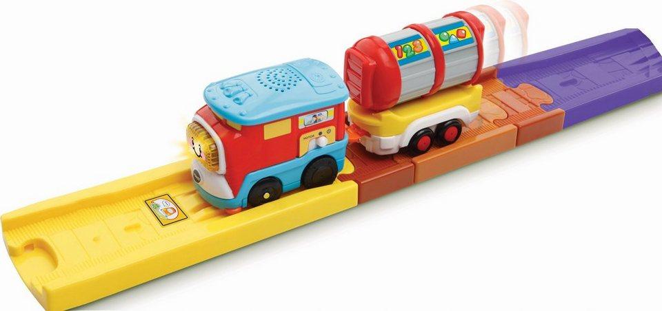 VTech Spieleisenbahn mit Licht und Sound, »Tut Tut Baby Züge Güterzug« in Bunt