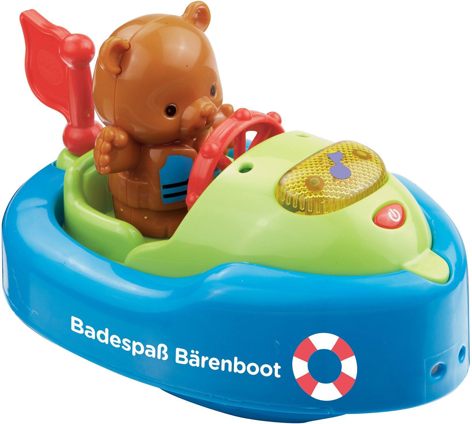 VTech Badespielzeug mit Licht und Ton, »VTech Baby Badespaß Bärenboot«