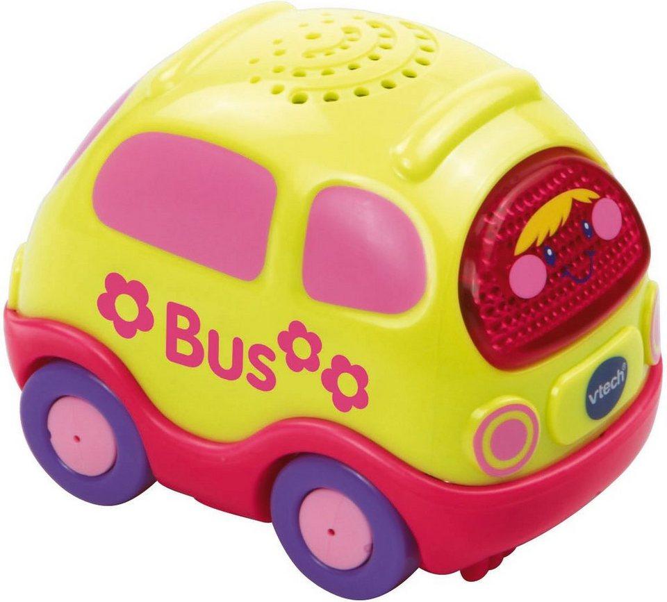 VTech Spielfahrzeug mit Licht und Sound, »Tut Tut Baby Flitzer Bus pink« in Pink