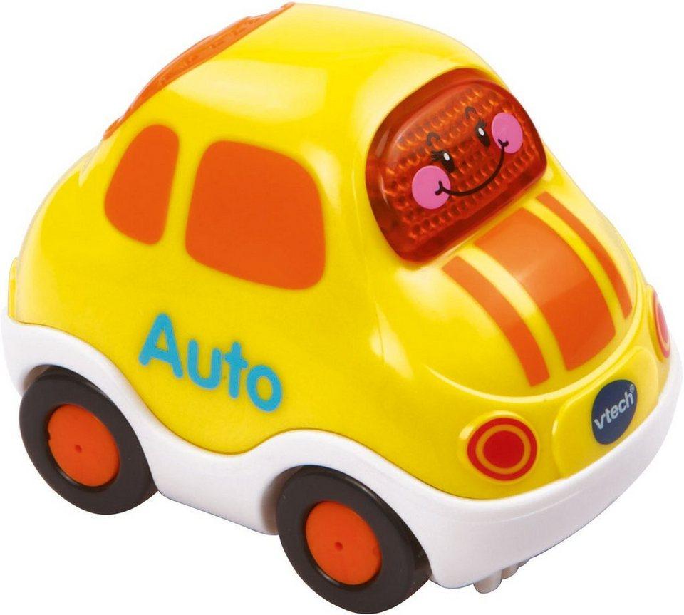 VTech Spielfahrzeug mit Licht und Sound, »Tut Tut Baby Flitzer Auto« in Gelb