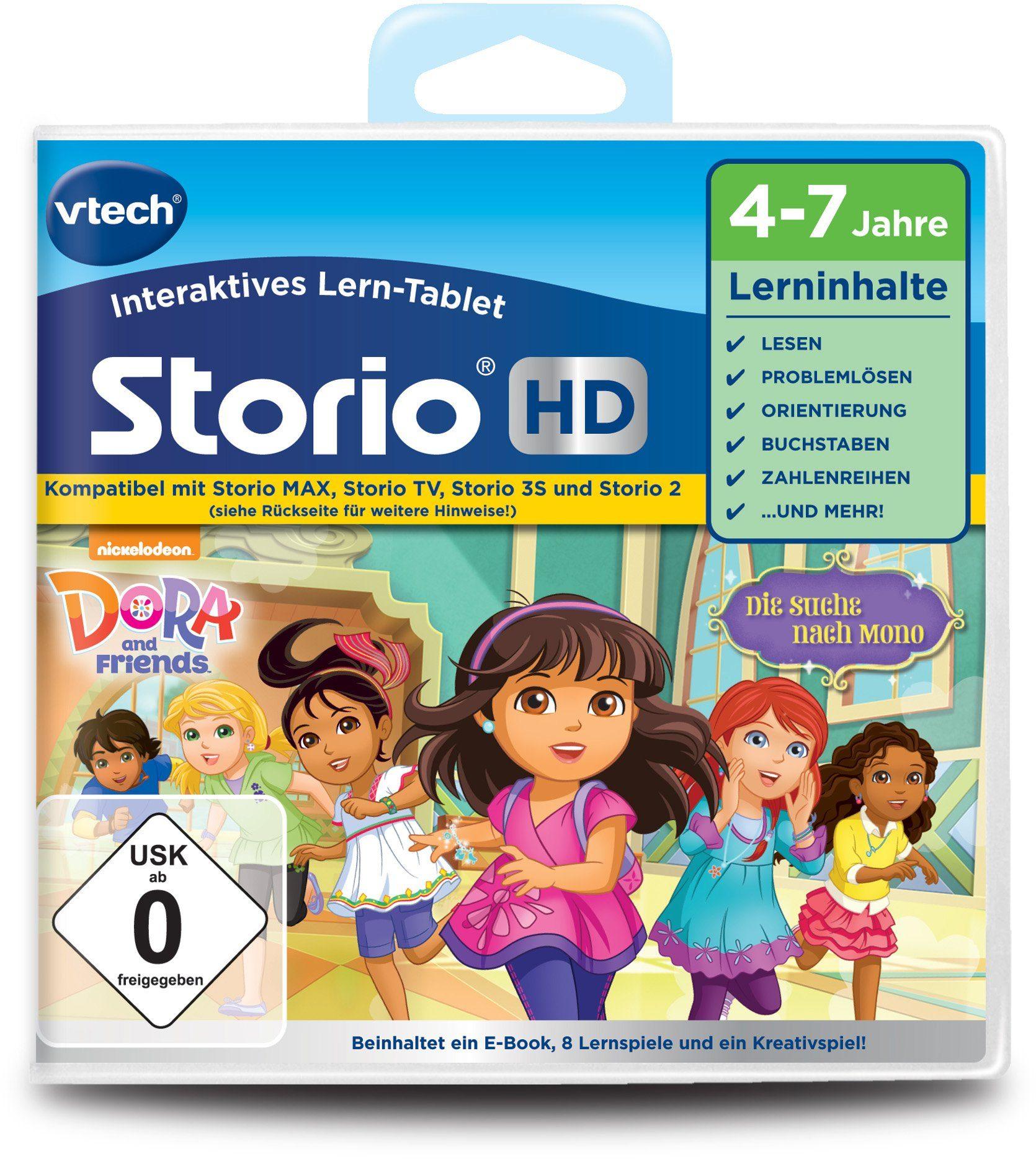 VTech Storio Lernspiel, »Dora & Friends HD«