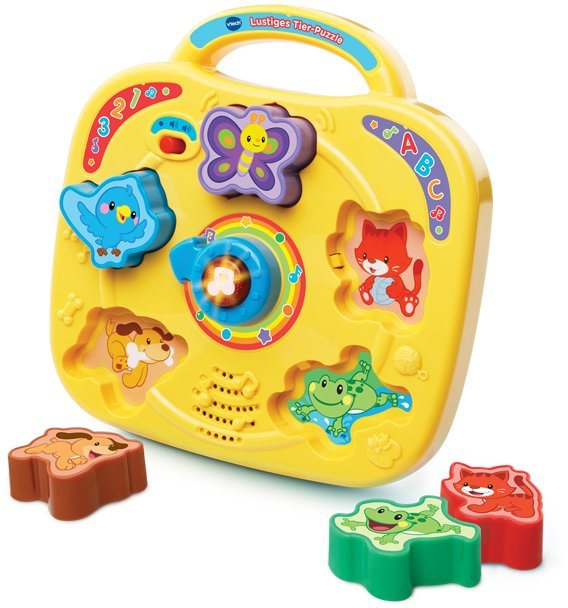 VTech Interaktives Puzzle, »Lustiges Tier Puzzle«