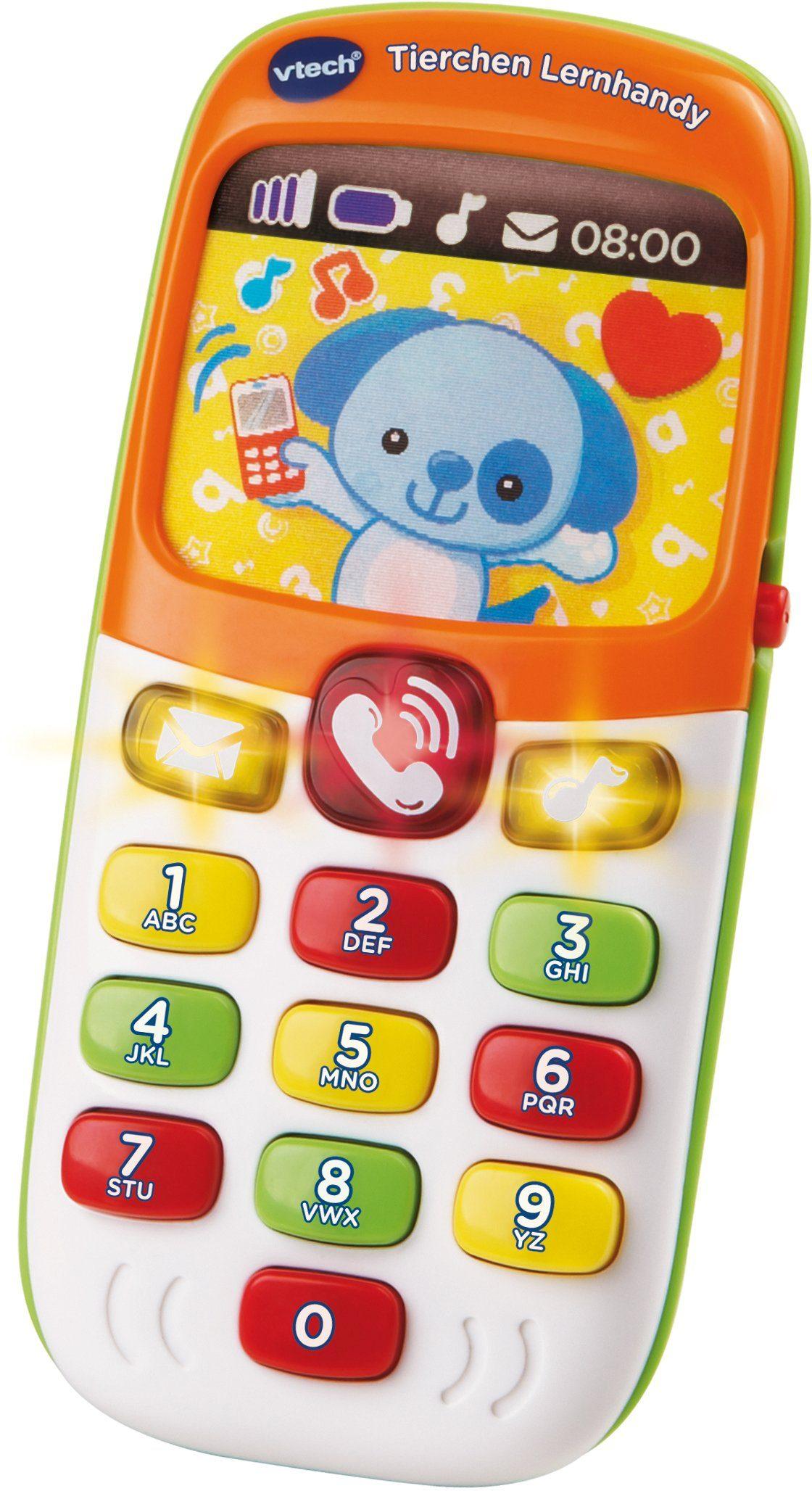 VTech Spieltelefon mit Licht und Ton, »VTech Baby Tierchen Lernhandy«