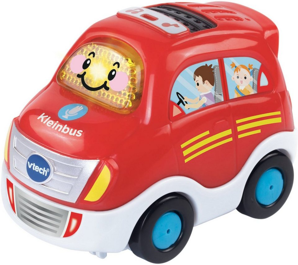 VTech Spielfahrzeug mit Licht und Sound, »Tut Tut Baby Flitzer Kleinbus« in Rot