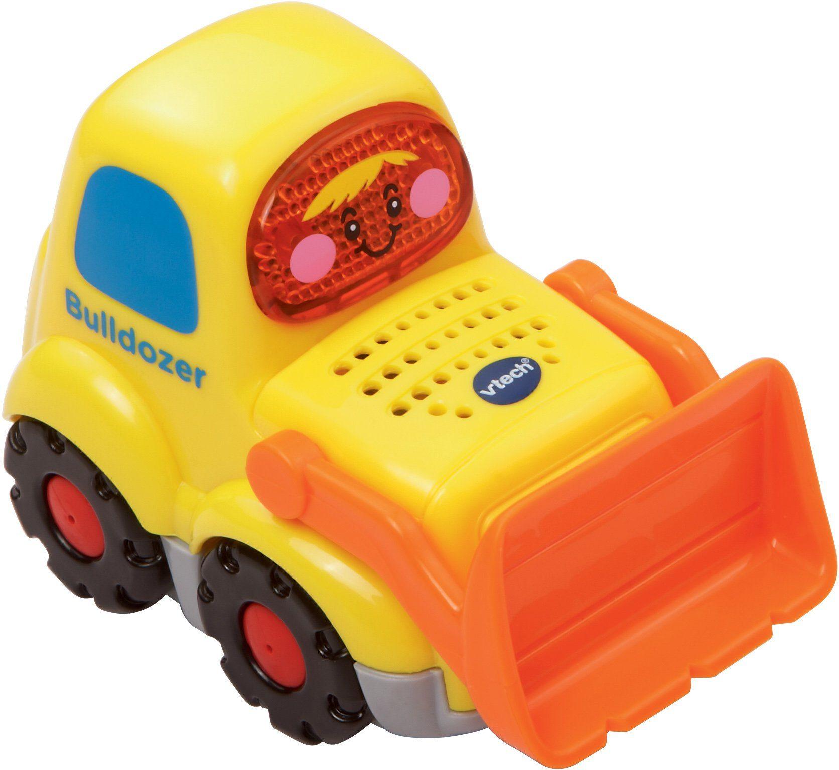 VTech Spielfahrzeug mit Licht und Sound, »Tut Tut Baby Flitzer Bulldozer«