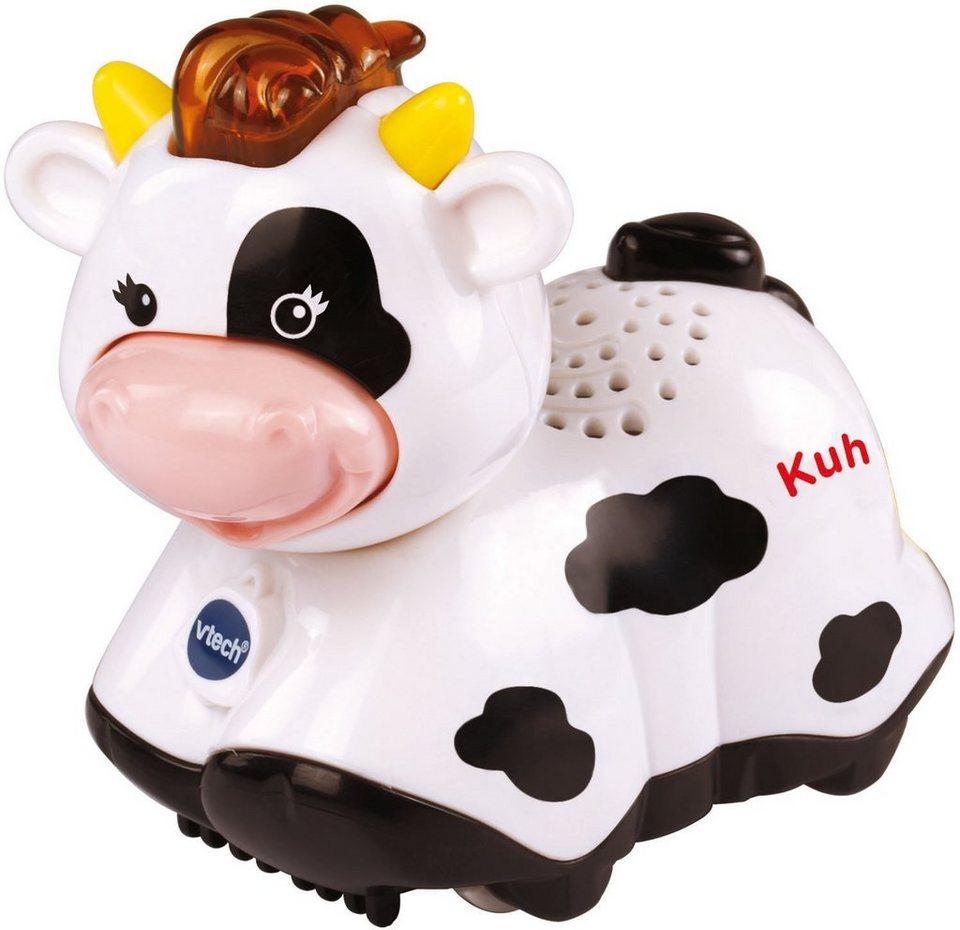 VTech Spielfigur mit Licht und Sound, »Tip Tap Baby Tiere Kuh« in Weiß