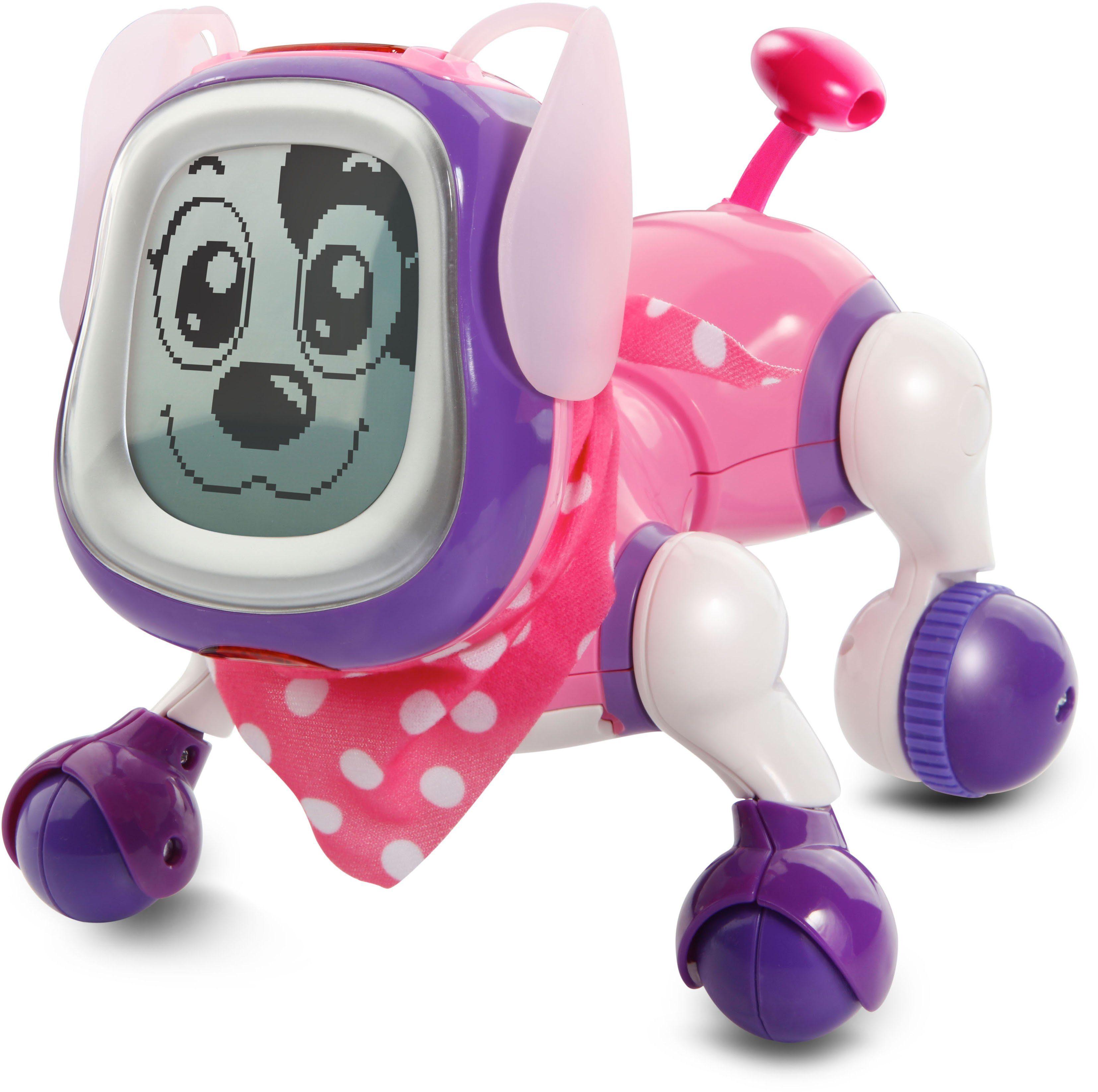 VTech Elektronischer Hund, »KidiDoggy Roboterhund pink«
