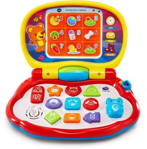 Vtech® Kindercomputer »Entdecker Laptop«, (Set, 1-tlg)